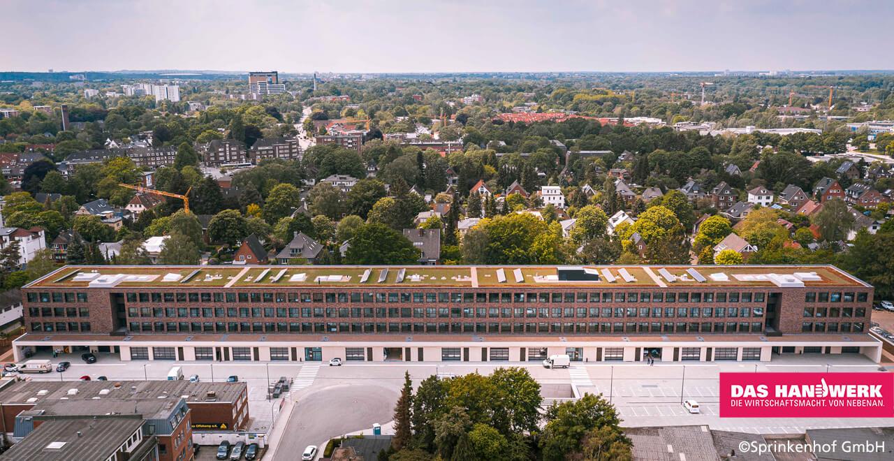 MEISTERMEILE – Gewerbeflächen in Hamburg für Handwerksbetriebe